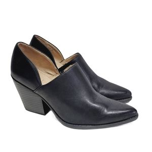 Soul Naturalizer Black Faux Leather Booties
